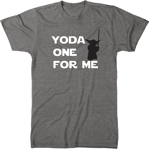 Yoda One For Me Men's Modern Fit Tri-blend T-shirt