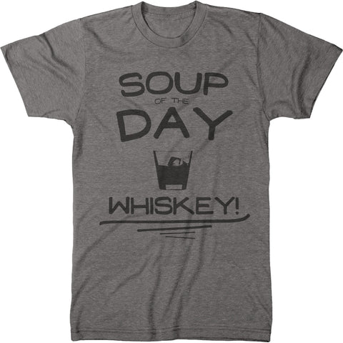 Soup of The Day is Whiskey Mens Modern Fit Tri-blend T-shirt