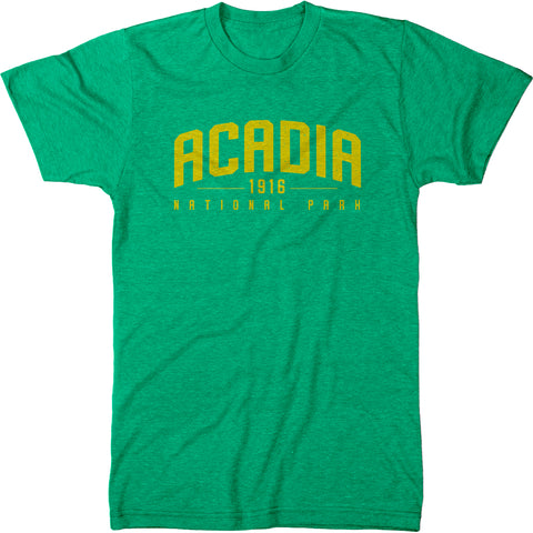 Acadia National Park Mens Modern Fit Tri-Blend T-Shirt