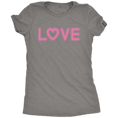 Valentine Love Women's Tri-Blend T-Shirt