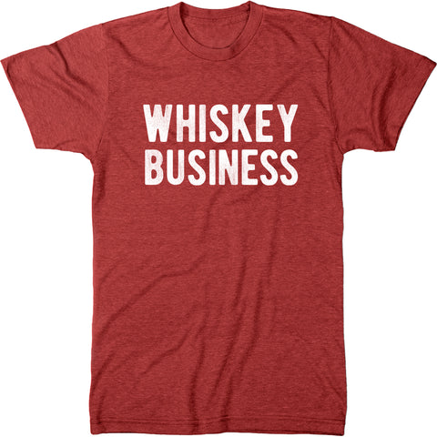 Whiskey Business Modern Fit Mens Tri-blend T-shirt