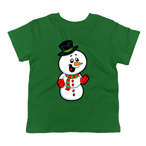 Christmas Snowman Toddler T-Shirt