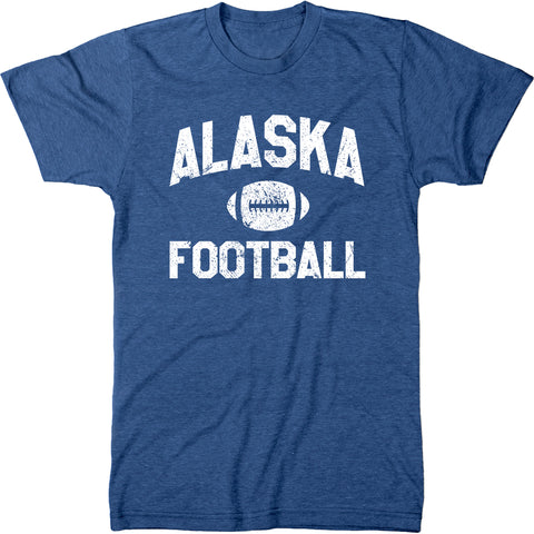 Alaska Football Men's Modern Fit T-Shirt