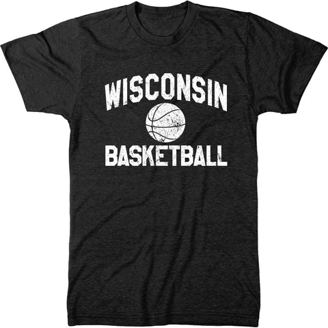 Wisconsin Basketball Men's Modern Fit T-Shirt