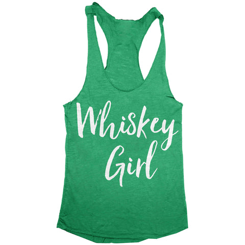 Whiskey Girl Womens Racerback Tank Top