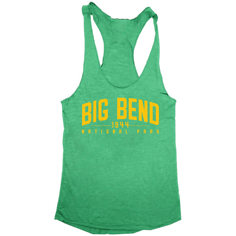 Big Bend National Park Womens Tri-Blend Racerback Tank