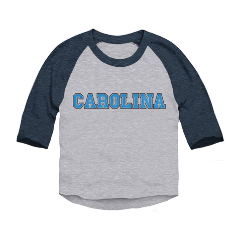 Carolina Football Fan Toddler 3/4-Sleeve Raglan T-Shirt