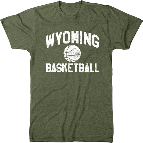 Wyoming Basketball Men's Modern Fit T-Shirt