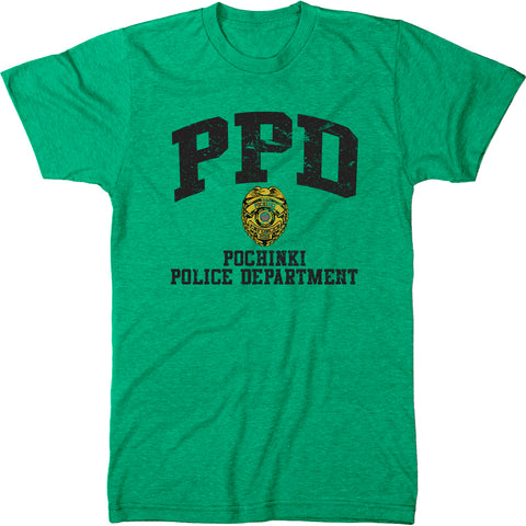 Pochinki Police Department Men's Modern Fit T-Shirt
