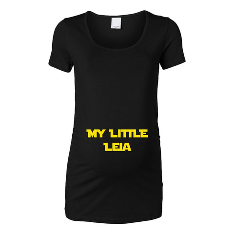 My Little Leia Womens Maternity Top