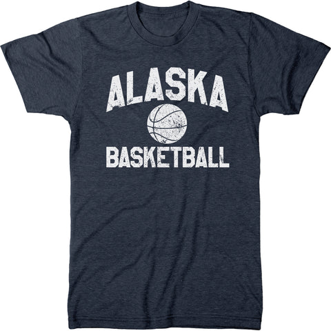 Alaska Basketball Men's Modern Fit T-Shirt