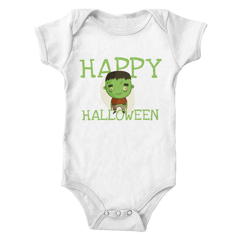 Halloween Baby Frankenstein Infant One-Piece Bodysuit