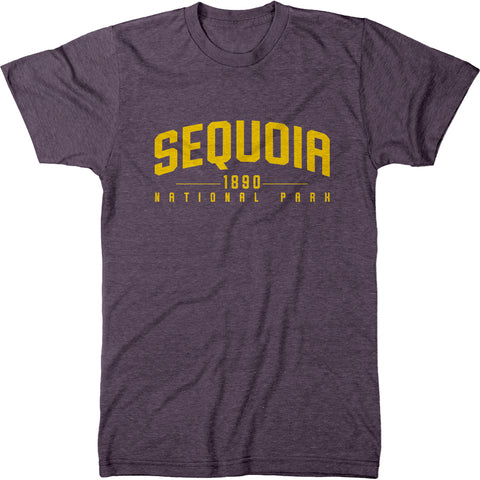 Sequoia National Park Mens Modern Fit Tri-Blend T-Shirt