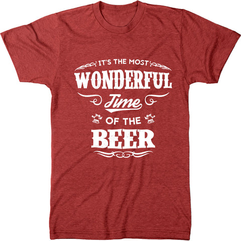 The Most Wonderful Time Of The Beer Men's Tri-Blend T-Shirt