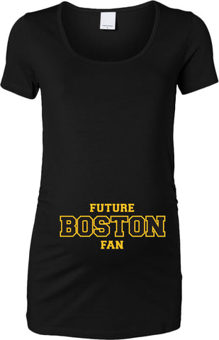 Future Boston Hockey Fan Womens Maternity Top