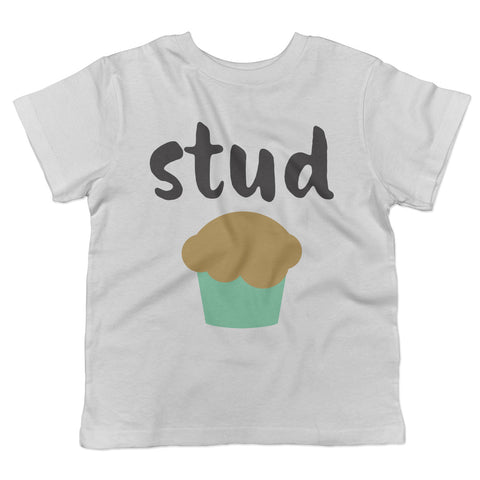 Stud Muffin Valentine's Day Toddler T-Shirt