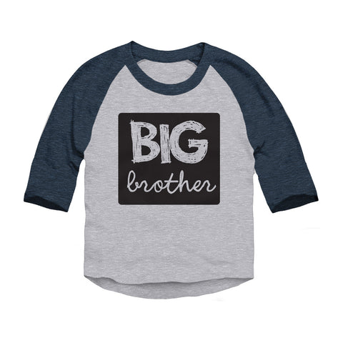 Big Brother Toddler 3/4-Sleeve Raglan T-Shirt