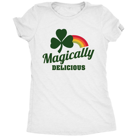 Magically Delicious Shamrock St. Patrick's Day Women's T-Shirt