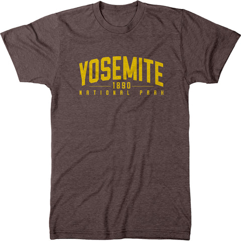 Yosemite National Park Mens Modern Fit Tri-Blend T-Shirt