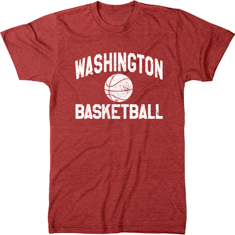 Washington Basketball Men's Modern Fit T-Shirt