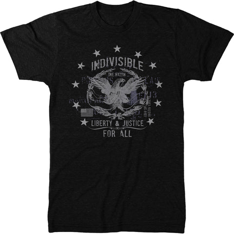 Indivisible American Liberty Mens Tri-blend T-shirt
