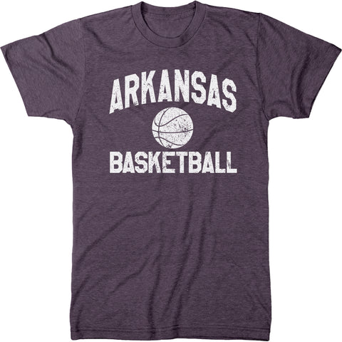 Arkansas Basketball Men's Modern Fit T-Shirt