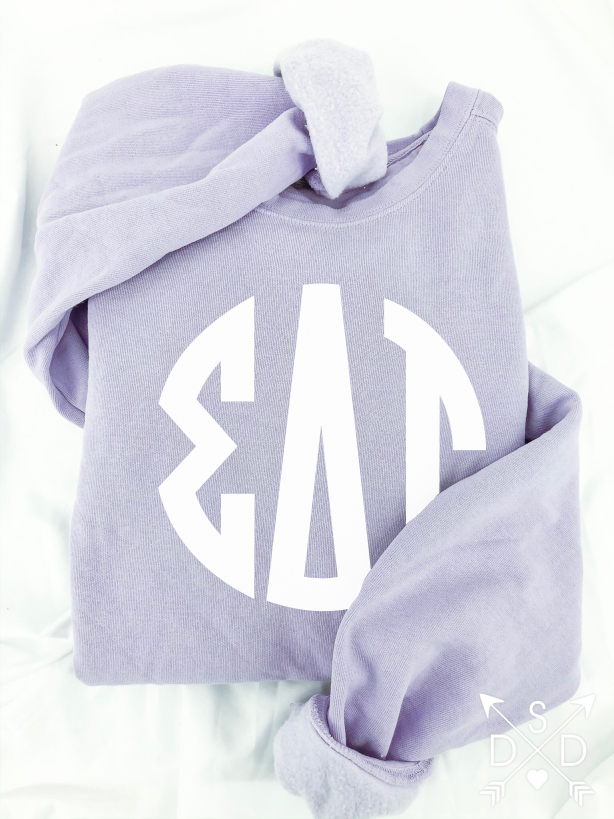 Full Front Monogram Sweatshirt