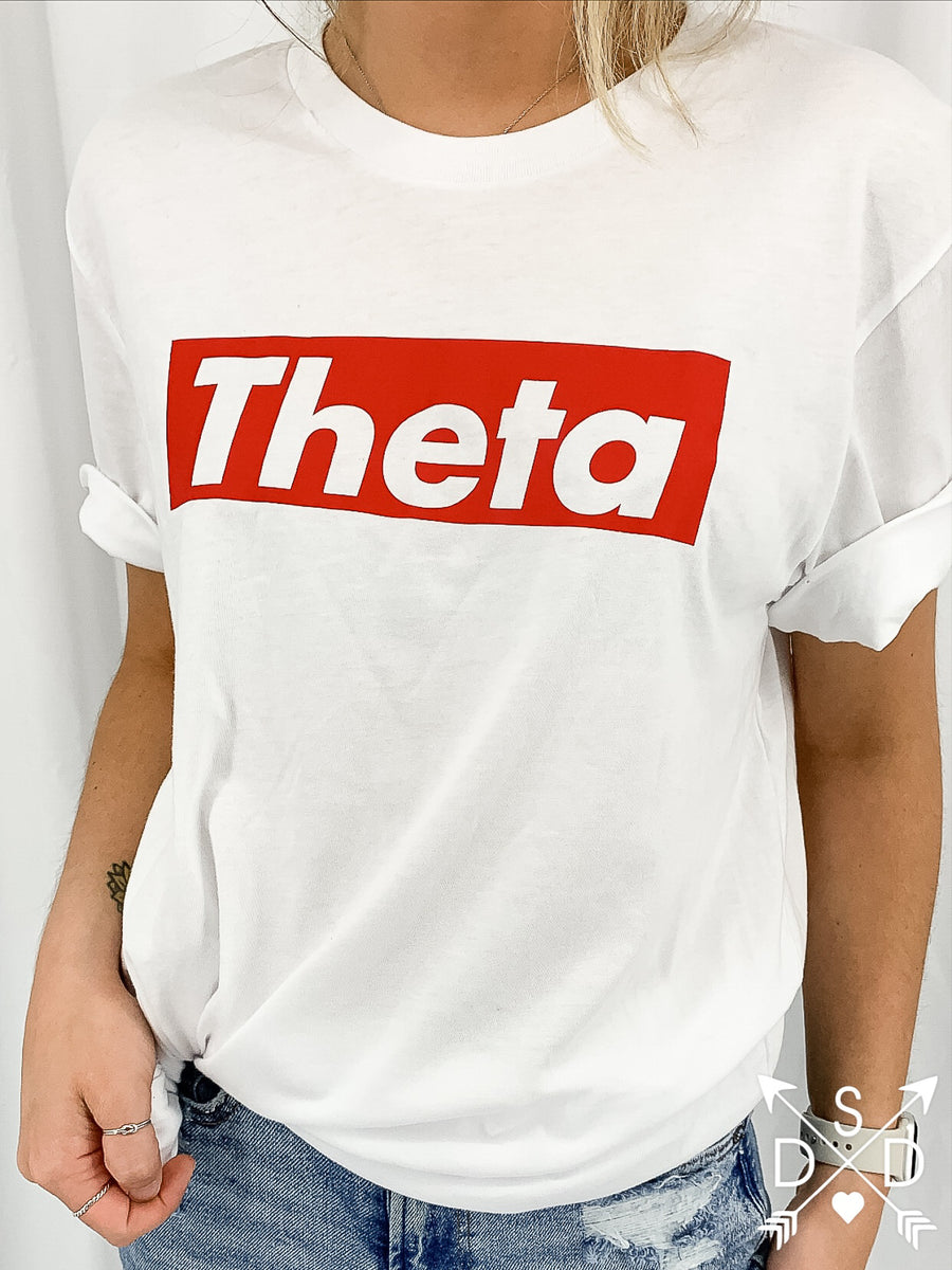 [Ready-To-Ship] Kappa Alpha Theta Tee - L