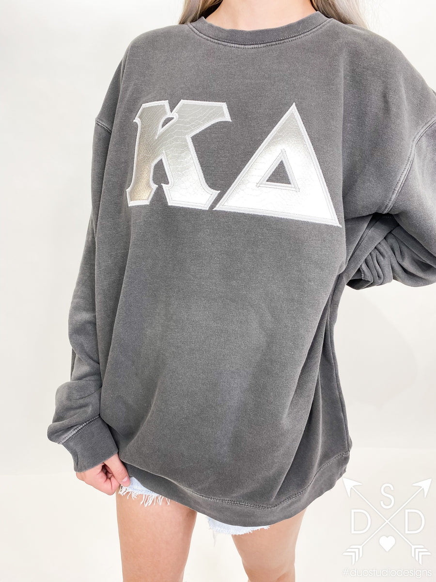 Amazon Embroidered Letter Sweatshirt