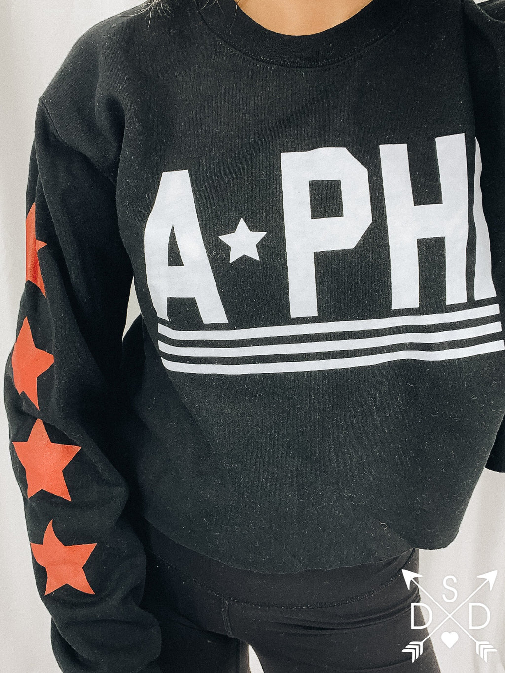 [Ready-To-Ship] Alpha Phi Venice Crop - S