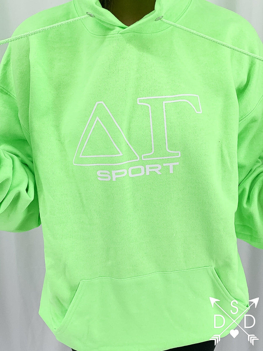 [Ready-To-Ship] Delta Gamma Sport Hoodie - L