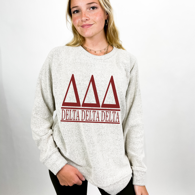 Delta Delta Delta Cozy Fleece