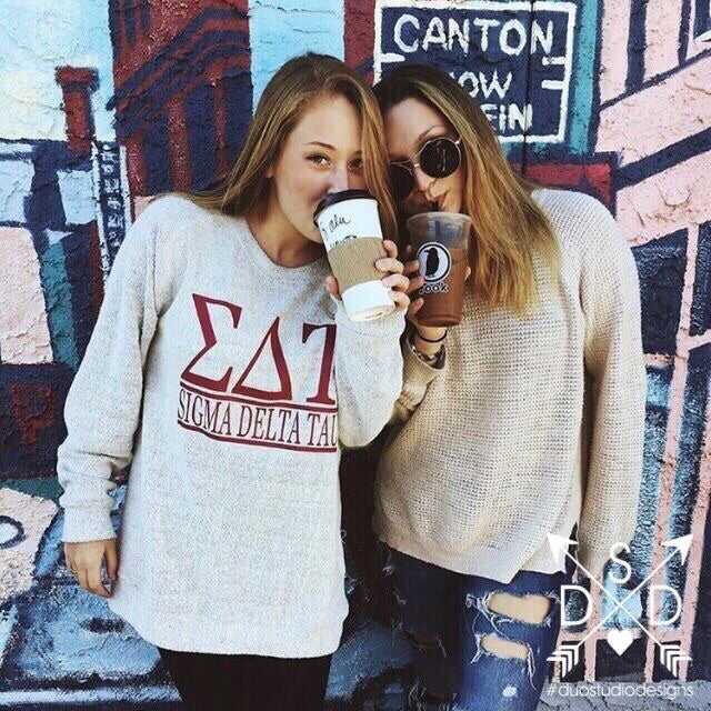 Cozy Fleece Sorority Pullover