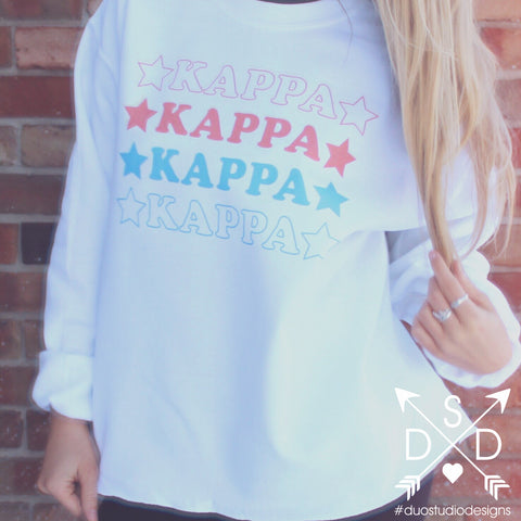 Sorority Ugly Christmas Sweatshirt