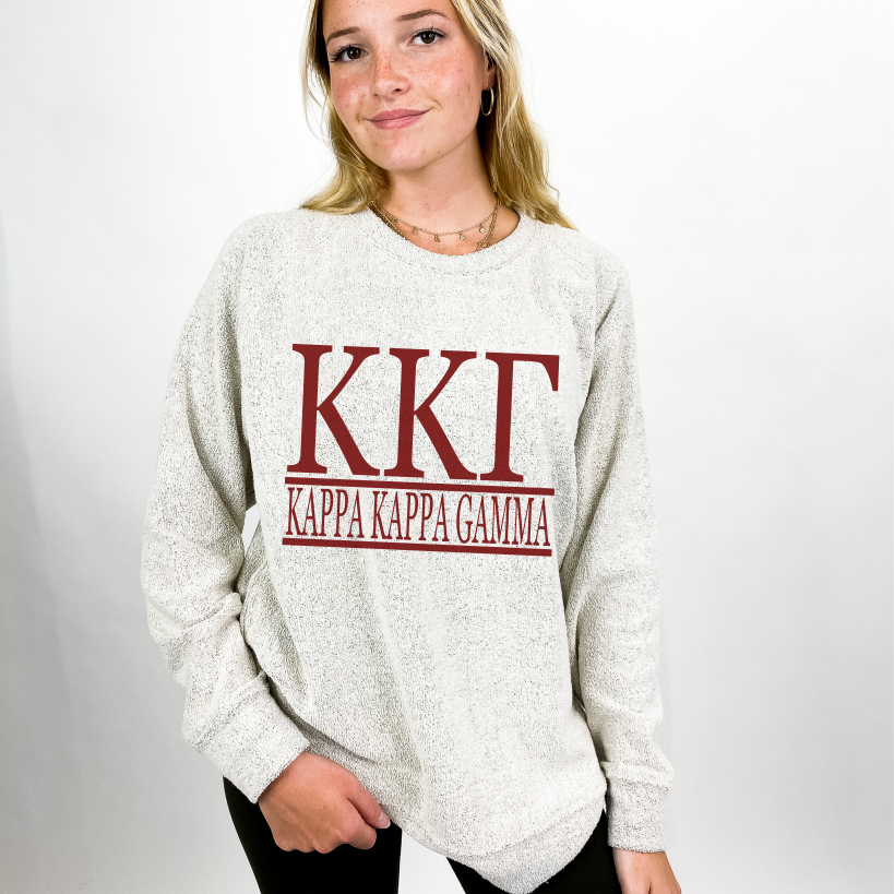 Kappa Kappa Gamma Cozy Fleece