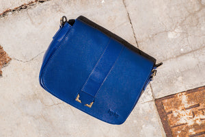 ivyivy original blue shoulder bag