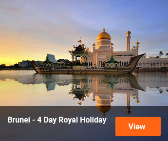 Travelbay Brunei – 4 Day Royal Holiday
