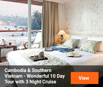 Travelbay  Cambodia & South Vietnam – Wonderful 10 Day Tour with 3 Night Luxury Mekong River Cruise