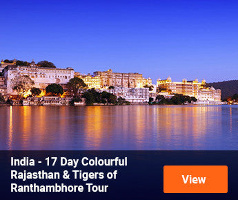 Travelbay India - 17 Day Colourful Rajasthan & Tigers of Ranthambhore Tour