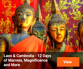 Travelbay  Laos & Cambodia - 12 Days of Marvels, Magnificence and More