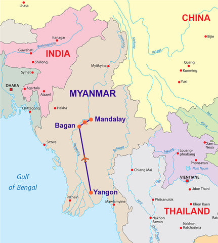 Travelbay 10 Day Magical Myanmar tour