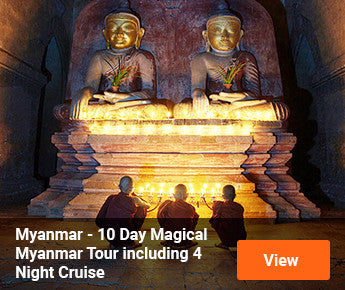 Travelbay Myanmar - 10 Day Magical Myanmar Tour including 4 Night Cruise