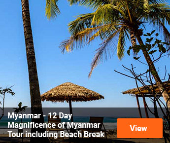 Travelbay Myanmar Tours - 12 Day Magnificence of Myanmar including Beach Break