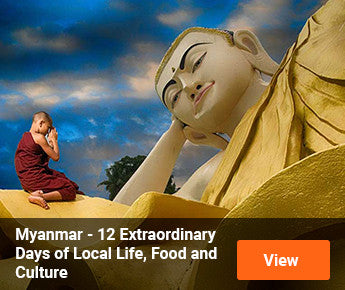 Travelbay Myanmar - 12 Extraordinary Days of Local Life, Food and Culture