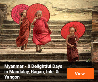 Travelbay Myanmar - 8 Delightful Days in Mandalay, Bagan, Inle & Yangon