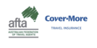 Travelbay - AFTA Cover-More logos