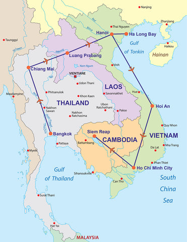 TRAVELBAY SOUTH EAST ASIA 21 DAYS