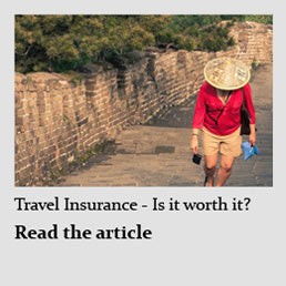 Travelbay Blog - Travel Insurance - Is it worth it