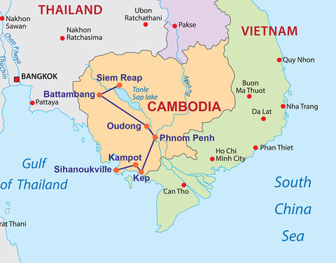 Travelbay Cambodia - 11 Day tour