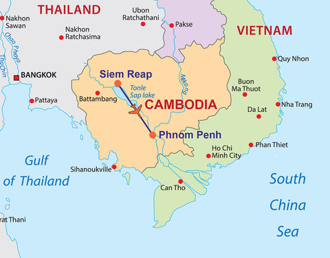 Travelbay Cambodia - 6 Day tour